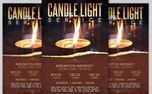 Candle Light Service Flyer (25977)
