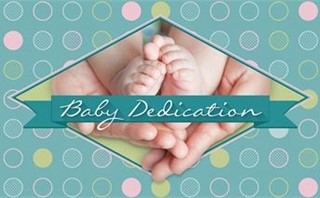 Baby Dedication Slide