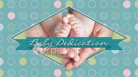 Baby Dedication Slide (26089)