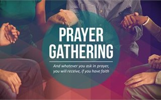 Prayer Gathering Slide