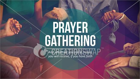 Prayer Gathering Slide (26372)