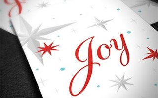Joy Invite Cards
