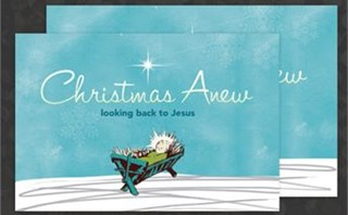 Christmas Anew Postcard
