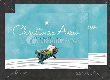Christmas Anew Postcard (26896)