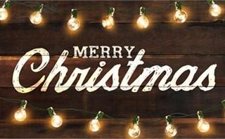 Christmas Lights Slide