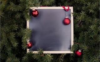 Holiday Chalkboard