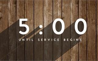 Long Shadow Wood Countdown