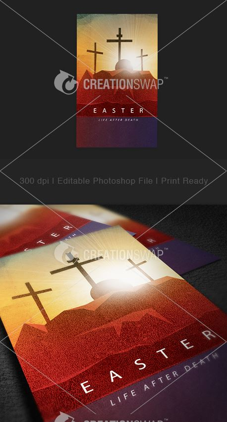 Easter Life Invitation Card (28389)