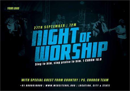 NIGHT OF WORSHIP (28508)