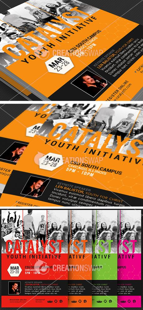 Catalyst Youth Summit Flyer (28725)
