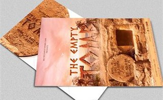 Empty Tomb Postcard Template