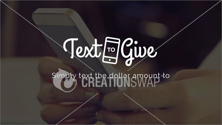 Text to Give (28897)