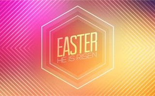 Hexagon Easter Title