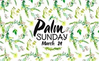 Floral Palm Sunday