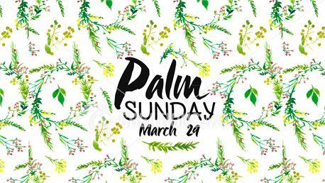 Floral Palm Sunday (29136)