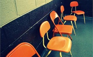 Orange Youth Chairs