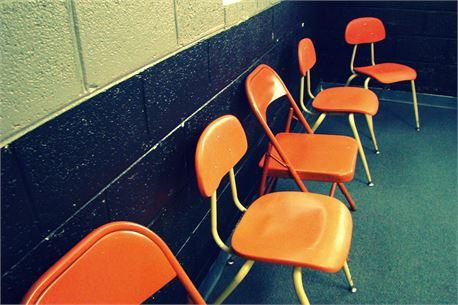 Orange Youth Chairs (29173)