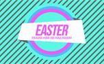 80's Easter He Has Risen (29276)