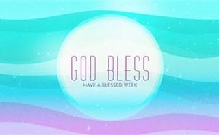 Waves of Color: God Bless