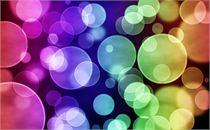 Multi-Color Bokeh Graphic