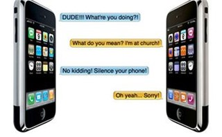 iPhone mock Ad
