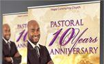 Clergy Anniversary Banner (30287)