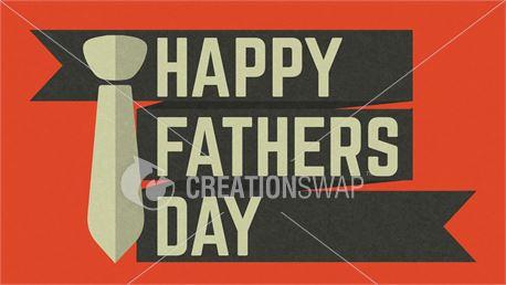 Fathers Day Ribbon Dark (30602)