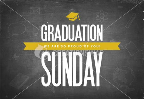 Graduation Sunday Black (30608)
