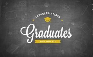 Congrats Graduates Black