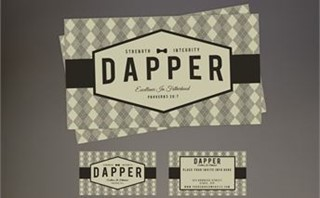 Dapper Invite Card