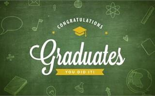 Graduation Banner Green