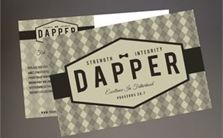 Dapper Series Postcard