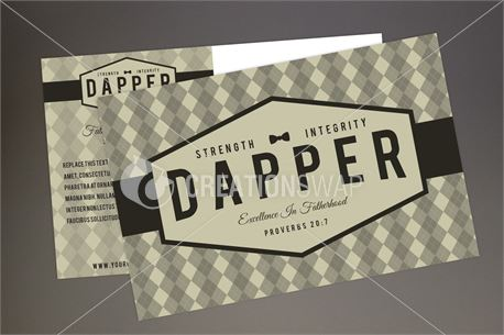 Dapper Series Postcard (30732)