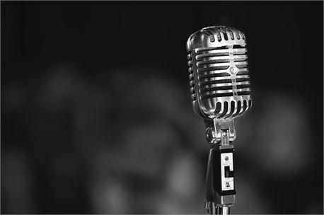 Vintage Microphone (30826)