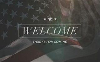 Faded Flag: Welcome