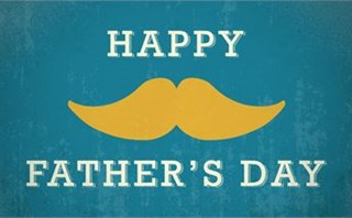 Happy Father's Day Mustache