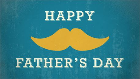 Happy Father's Day Mustache (30944)