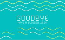 Summer Waves: Goodbye
