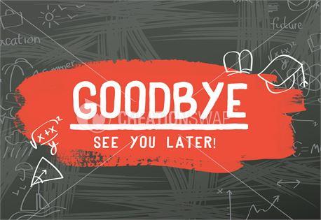 Goodbye - Back to School (31517)