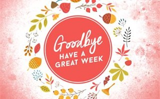 Fall Kickoff - Goodbye