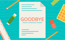 Back to School: Goodbye