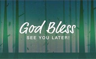 Fall Schedule - God Bless