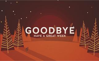 Designer Fall: Goodbye