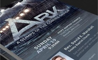 Ark Church Flyer Template