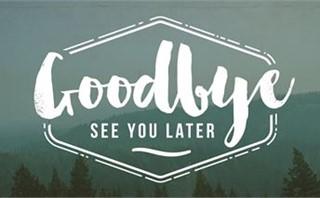 Nature Bible Study - Goodbye