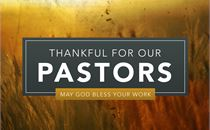Pastor Appreciation - Title