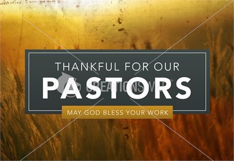 Pastor Appreciation - Title (32938)