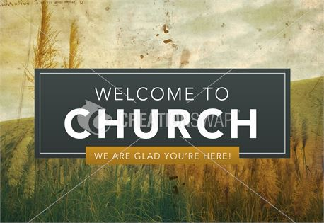 Pastor Appreciation - Welcome (32941)