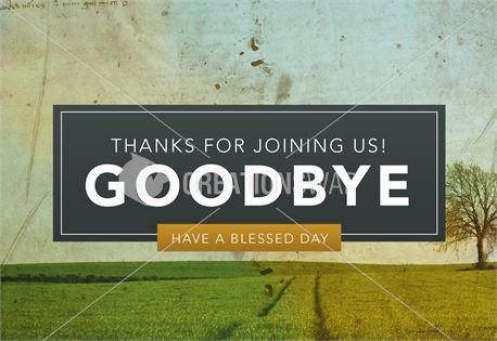 Pastor Appreciation - Goodbye (32944)