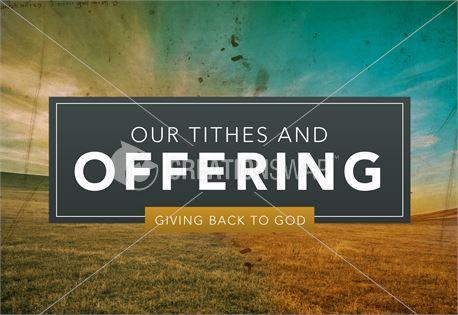 Pastor Appreciation - Offering (32951)
